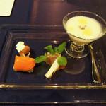 BISTRO FAVORI - 美味!! 新玉葱のスープ