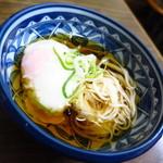 山田屋 - 名物の半熟玉子(驚)