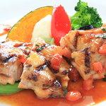 Zonaforutonato - お任せランチ(若鶏のグリル デミトマトソース)