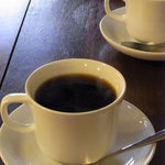 カフェ ラインベック - モーニングの珈琲(オカワリできました)