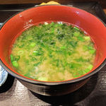 39100495 - 青海苔のお味噌汁、美味しい