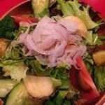 和牛屋 - 有機サラダ