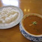 インディアン・レストラン ロタ - ダル&バスマティと日本米のMIXライス♪