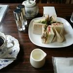 ごじとま - 料理写真:野菜サンドセット