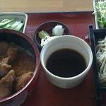 茶の木 - 料理写真:ソースカツ丼セット