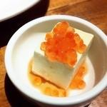 博多フードパーク 納豆家 粘ランド - 豆藤の柚子豆腐