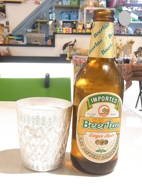 ディーディー - ビアラオ¥600(税別) ラオスのラガービール☆♪