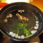 しまごん - 鰻の肝吸い