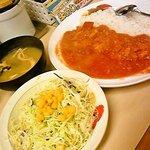 松屋 - フレッシュトマトカレー野菜セット