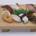 暫寿司 - 盛り込み