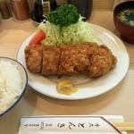 39112119 - ヒレカツ定食(1,560円)