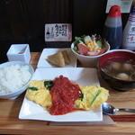 ゆるりん亭 - 日替わり定食(800円)