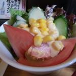 ゆるりん亭 - サラダ