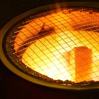 七輪焼きが魅力の焼肉店