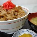 愛鷹パーキングエリア(下り)・スナックコーナー - 燃えて豚ちゃん丼