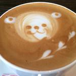 カフェ マンナ - ★★★★カプチーノ