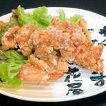 開花屋楽麺荘 - 料理写真:からあげ