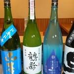 和酒飯くり家 - 夏酒も続々入荷してます。
