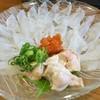 彦兵衛 - 料理写真:カワハギの薄造り