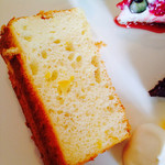 WILL cafe - 美生柑ヨーグルトシフォンケーキ