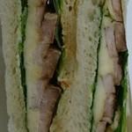 39119911 - 豚の香草焼きバルサミコソースのサンド