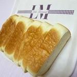 リトルマーメイド - 従業員一押しの「北海道ミルク食パン」柔らかくてもっちりsとした食感がたまらない!