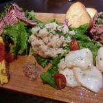 パスタバル ドン ピノキオ - 前菜5種盛り