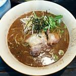 麺屋 節と煮干の濃厚ばかっぷる - 【強節 素がけ】¥700