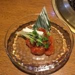 韓国家庭料理 おこげ - 2015年7月/お通しちゃんじゃw