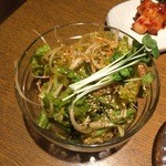 韓国家庭料理 おこげ - 2015年7月/チョレギサラダ