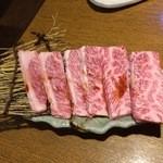 韓国家庭料理 おこげ - 2015年7月/上カルビ