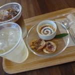 cafe de MeiPAM - 自家製半生クレームブリュレ