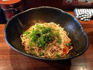 汁なし担担麺専門 キング軒 東京店 - 汁なし担担麺・3辛・大盛