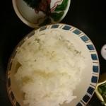 月亭 - ご飯