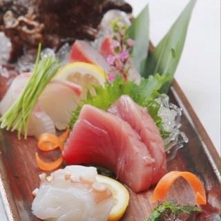 京都中央市場から届く、新鮮魚介!!