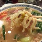 39129222 - 《蕃茄麺(とまとそば)》1,150円                       2015/6/18