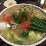 39129224 - 《蕃茄麺(とまとそば)》1,150円                       2015/6/18