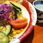 39129422 - 野菜たっぷりサラダ(2〜3人用)