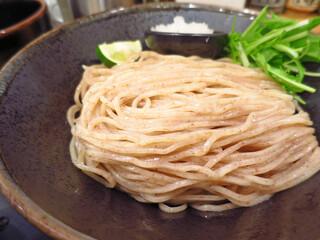 麺匠 たか松 本店 - 全粒粉!まるで蕎麦!!(驚)