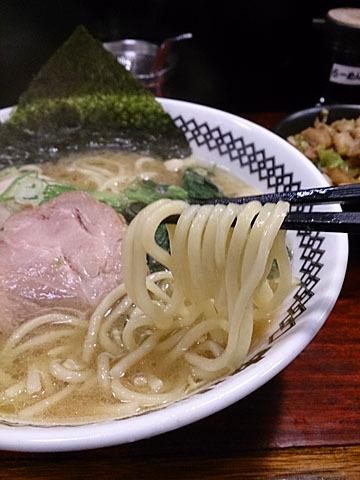 中山堂 - 味玉ラーメン(太麺)