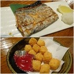39132572 - 太刀魚塩焼き¥750/カリッとチーズフライ¥500