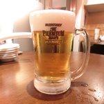 39132773 - <'15/06/17撮影>会員一杯目ドリンク無料 の達人の生ビール