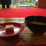 金閣寺不動釜茶所 - ほっこりお濃茶♡