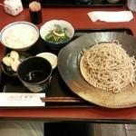 39136248 - 粗びき蕎麦ランチ