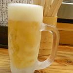 39136645 - キンキンに冷えたグラスで♪生ビール