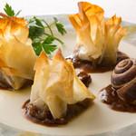 レストランアラスカ - アラスカ伝統のエスカルゴ。他では味わえないスペシャリテ