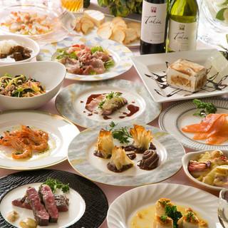 豪華で美味しい料理をリーズナブルにご用意しております!