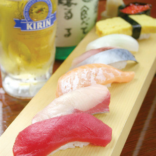 刺身・寿司も充実
