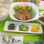 リョウカク - 日替わりセット、豚生姜焼き