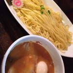 IBUKI -つけめんDINING- - 特製つけ麺はフェットチーネ感覚で美味